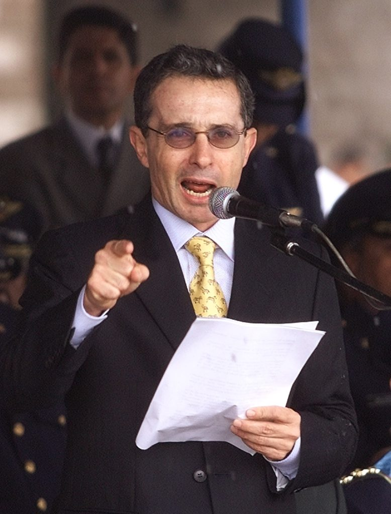 Image for Former president Uribe implicated in paramilitary massacres