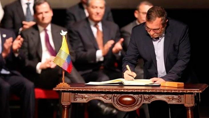 Image for Colombian President endangers future of peace process