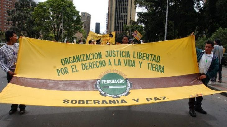 Image for FENSUAGRO trade unionist murdered in southern Colombia