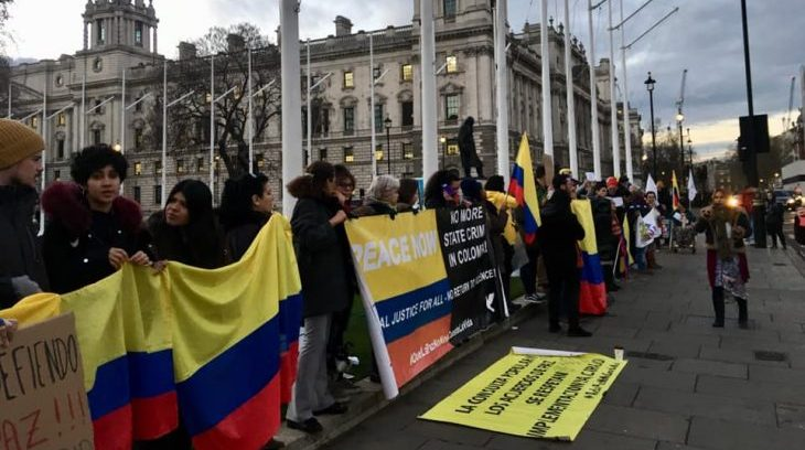 Image for London to stage 26 July march in support of peace and human rights in Colombia