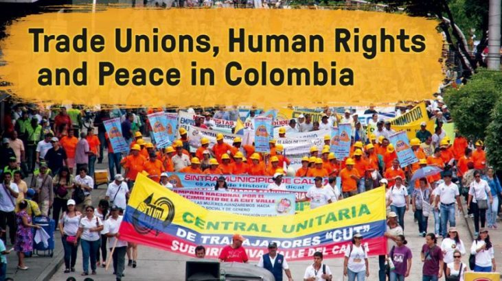 Image for Justice for Colombia fringe event at TUC 2019