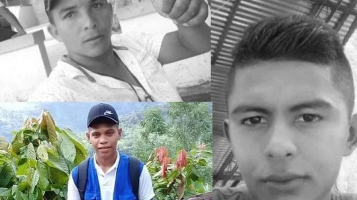 Image for Three peasant farmers working to implement peace process killed in paramilitary attack