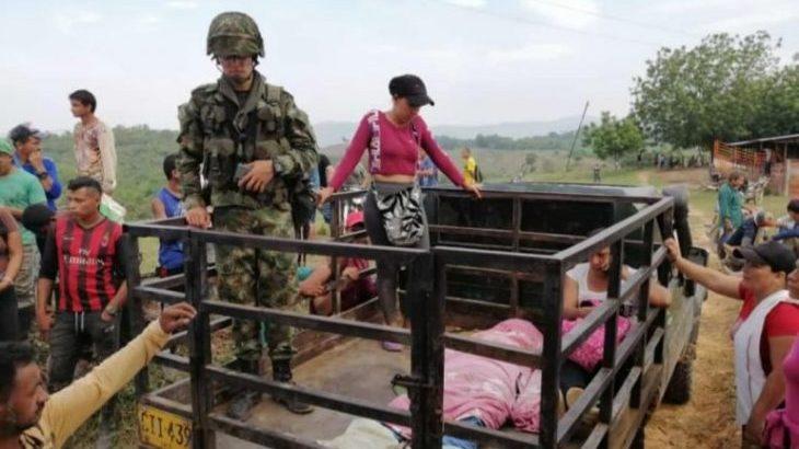 Image for Army kills coca farmer protesting against forced crop erradication