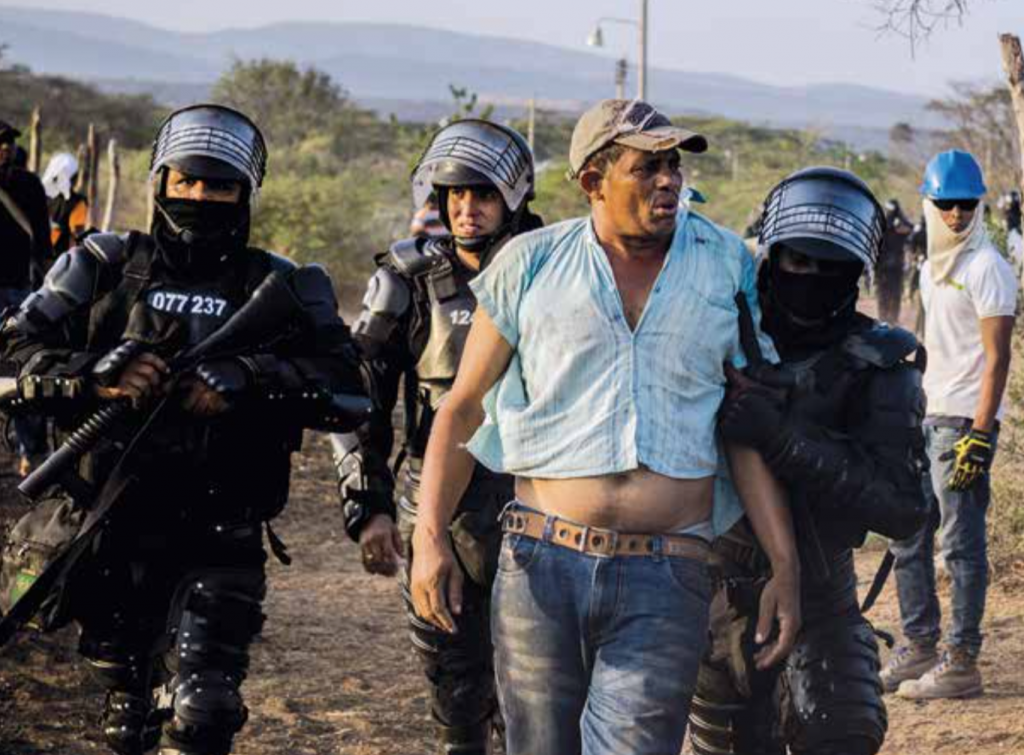 Image for Colombia human rights update February 2021