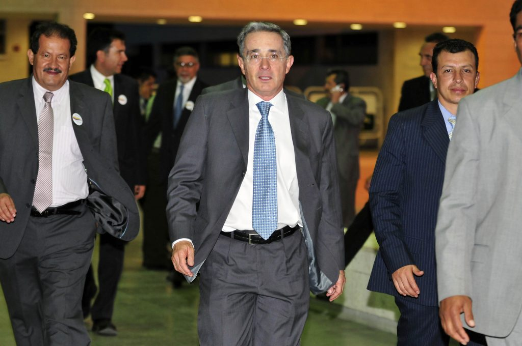 Image for Former president Uribe under house detention as opposition senator reports threats