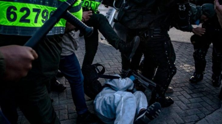Image for Demands for justice over police killings of civilians during protests