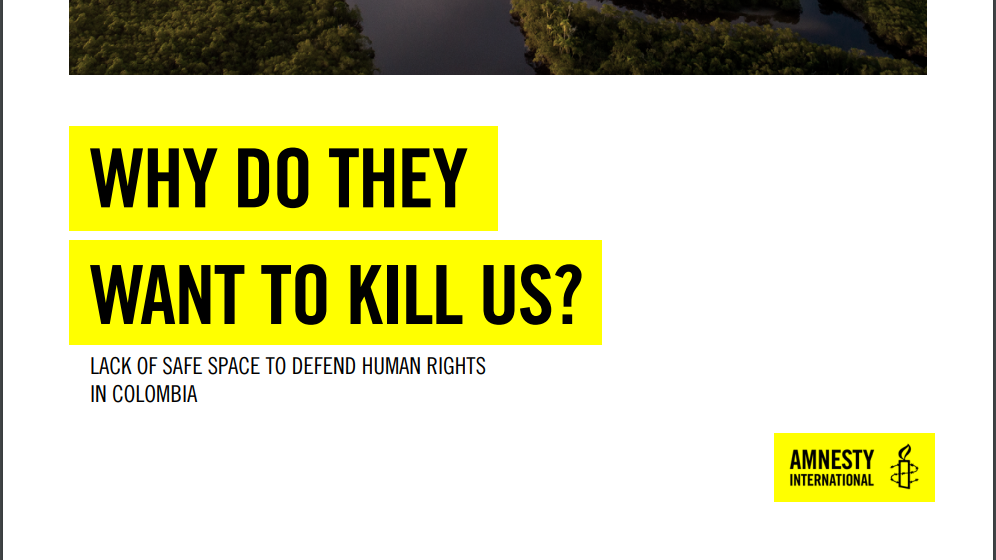 Image for Amnesty International Report – October 2020