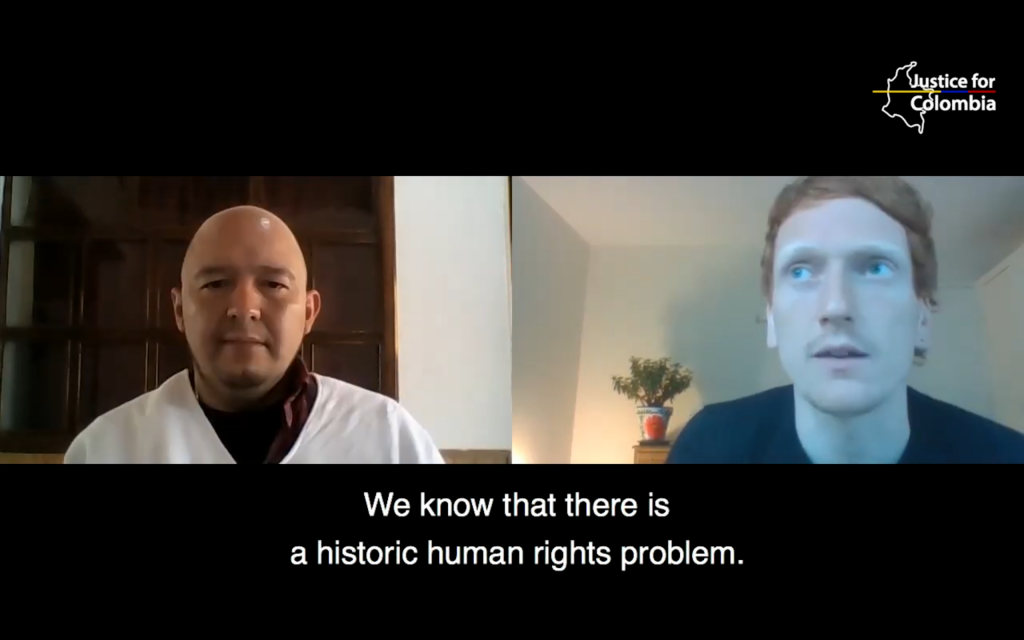 Image for JFC Interviews #3: Human Rights Defender Cristian Delgado