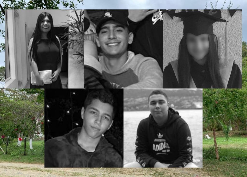 Image for Five teenagers killed in Colombia's sixth massacre of 2021