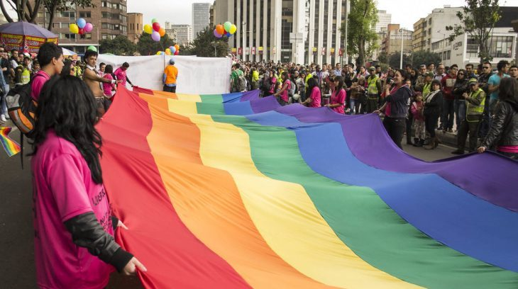 Image for Sharp rise in attacks as 76 LGBT people murdered in Colombia in 2020