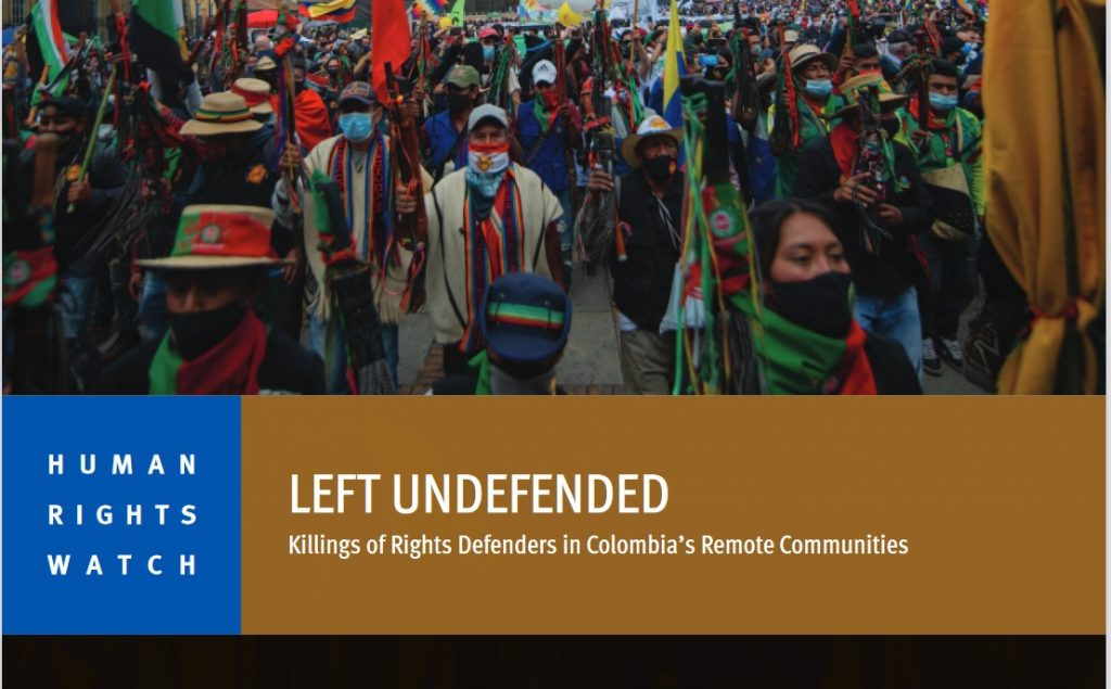 Image for Human Rights Watch – February 2021
