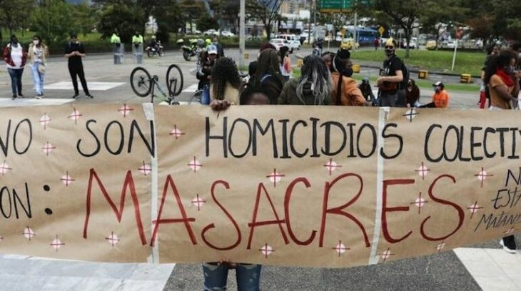 Image for Five farm workers killed in Colombia's 12th massacre of 2021