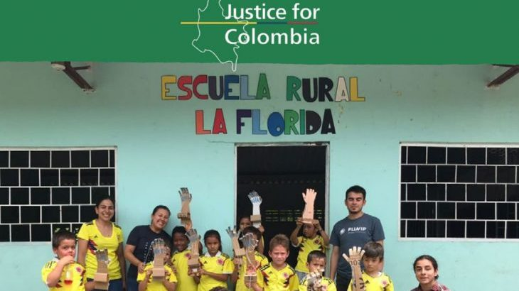 Supporting Teachers in Colombia Leaflet