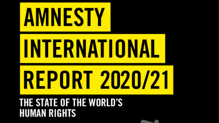 Image for Amnesty International Report 2020/21