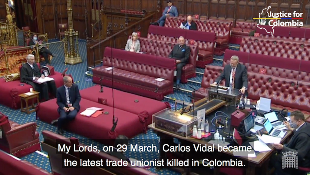 Image for Video: British parliament concerns over state abuses and human rights in Colombia