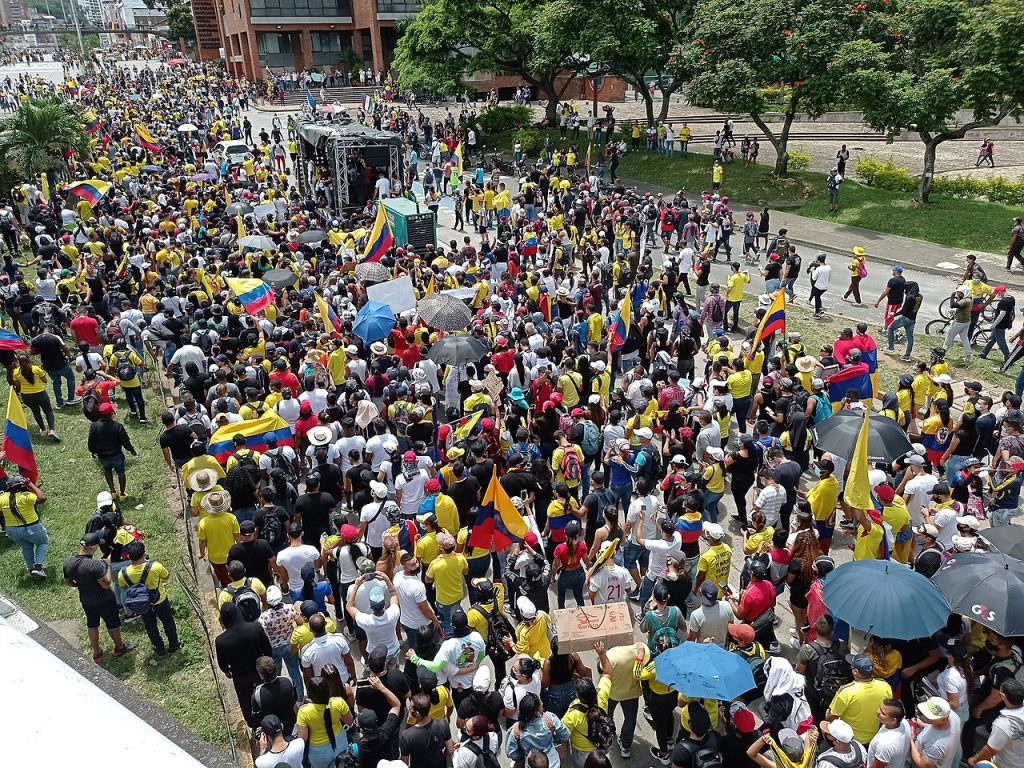 Image for Colombia protests: intense state abuses cannot crush mass demand for change