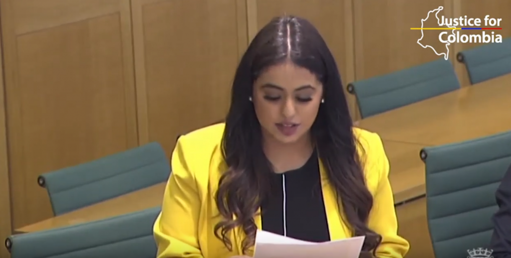 Image for WATCH: Westminster parliamentary debate on human rights in Colombia, 15 July 2021
