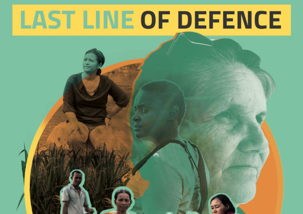 Image for Global Witness annual report: Last Line of Defence – September 2021